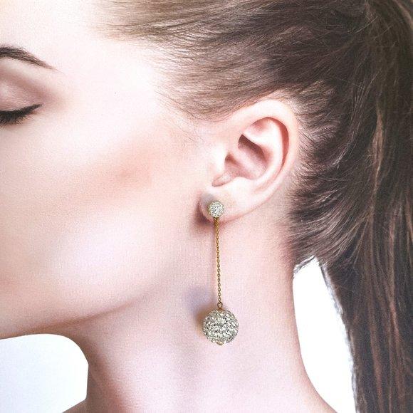 Kate Spade New York Razzle Dazzle Linear Earrings